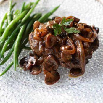 Salisbury Steak For One | One Dish Kitchen