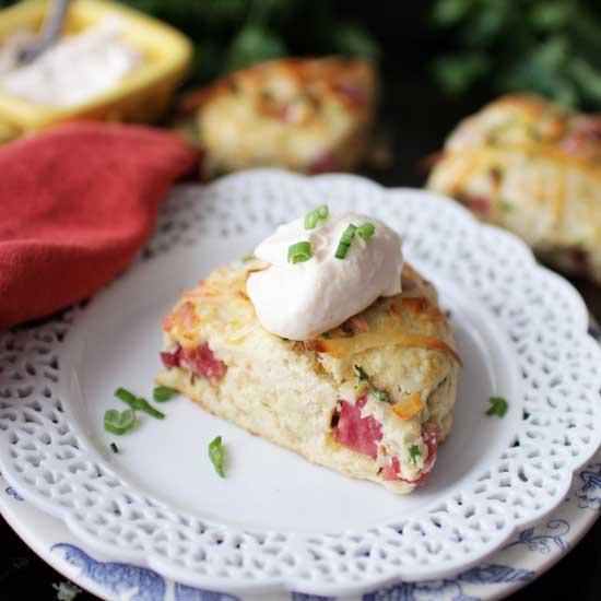 Promo image for Small Batch Ham and Gruyere Scones recipe