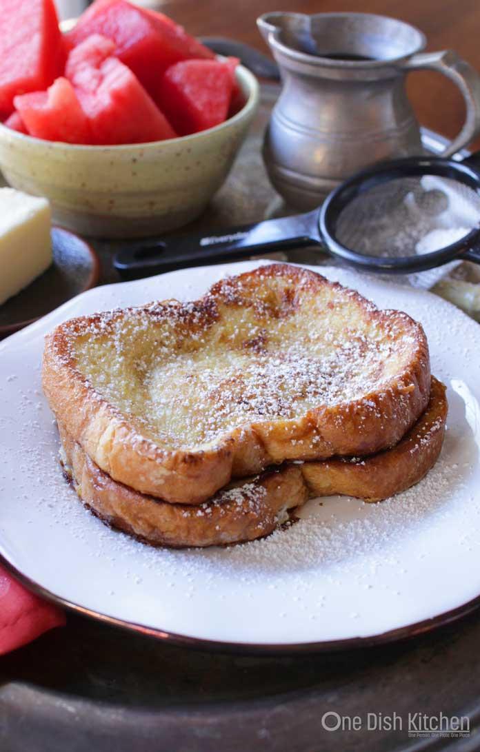 french toast recipe - ready to enjoy