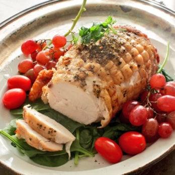 Herb Crusted Turkey Roast Recipe   One Dish Kitchen
