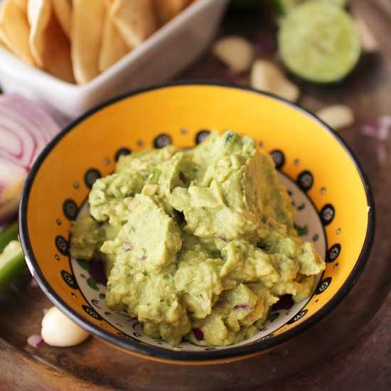 Easy Guacamole Recipe Small Batch One Dish Kitchen