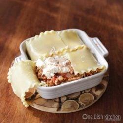 Lasagna   One Dish Kitchen