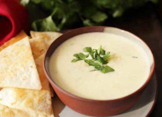 Small Batch White Queso Recipe | One Dish Kitchen | Game Day Recipes