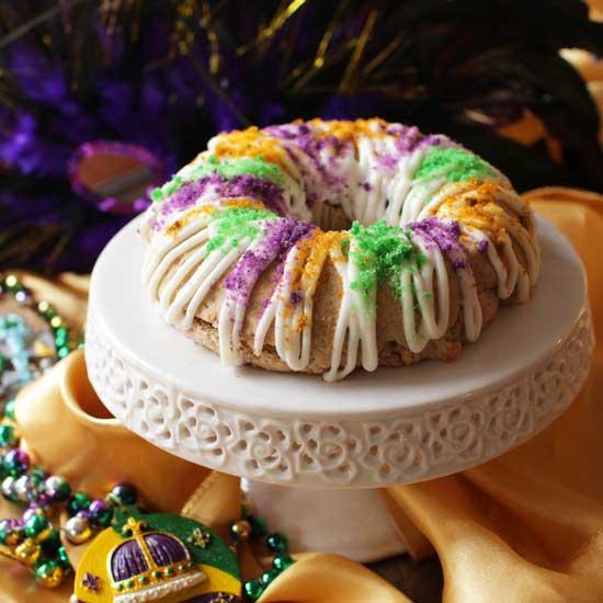 Mini King Cake   One Dish Kitchen