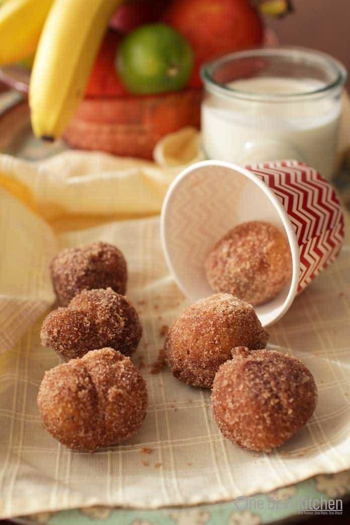 homemade donut holes | one dish kitchen