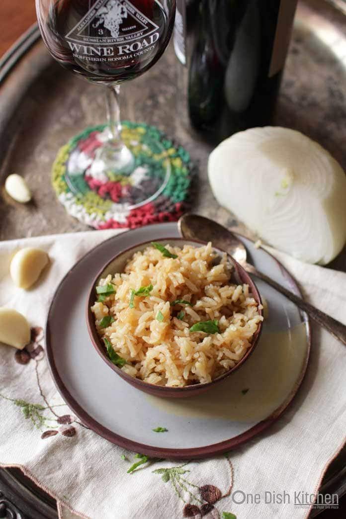 5-ingredient rice pilaf recipe