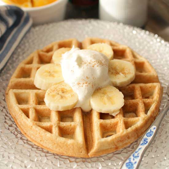 waffles for one | One Dish Kitchen