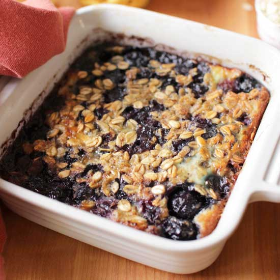 Baked Oatmeal | One Dish Kitchen