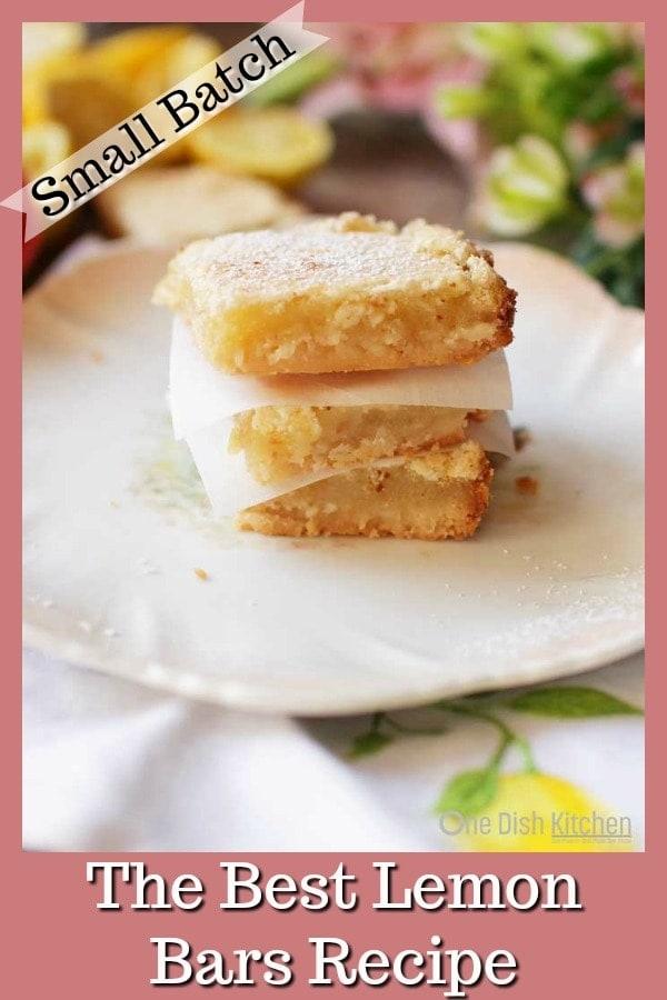 Lemon Bars   One Dish Kitchen