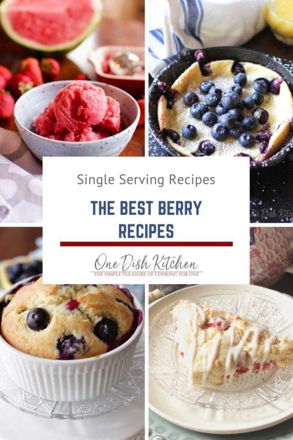 four berry recipes.