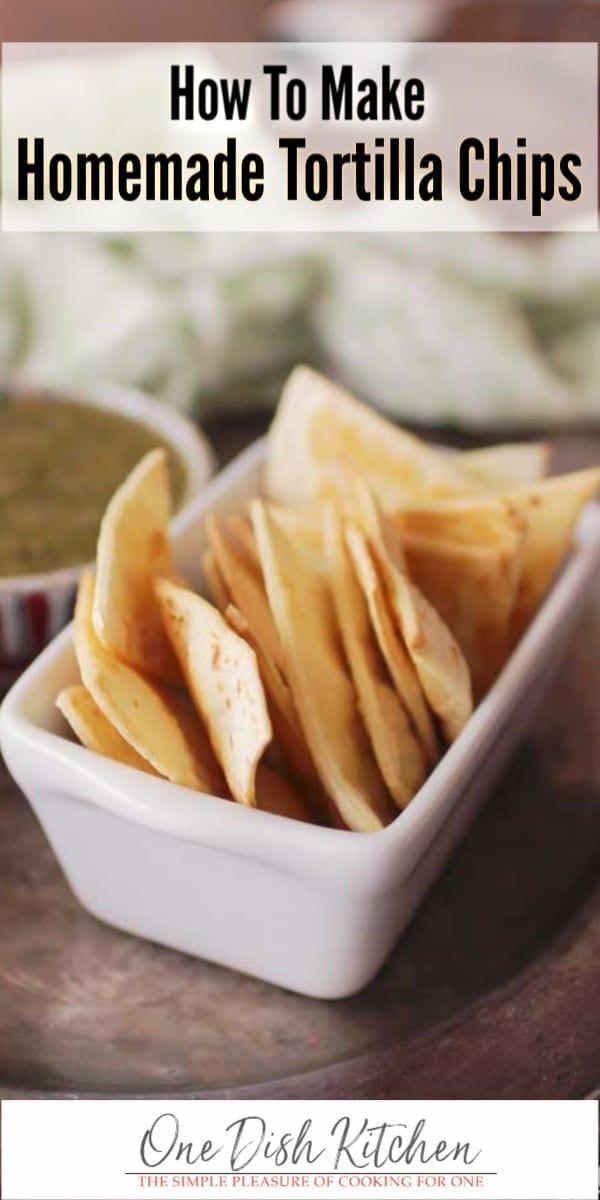 baked tortilla chip recipe