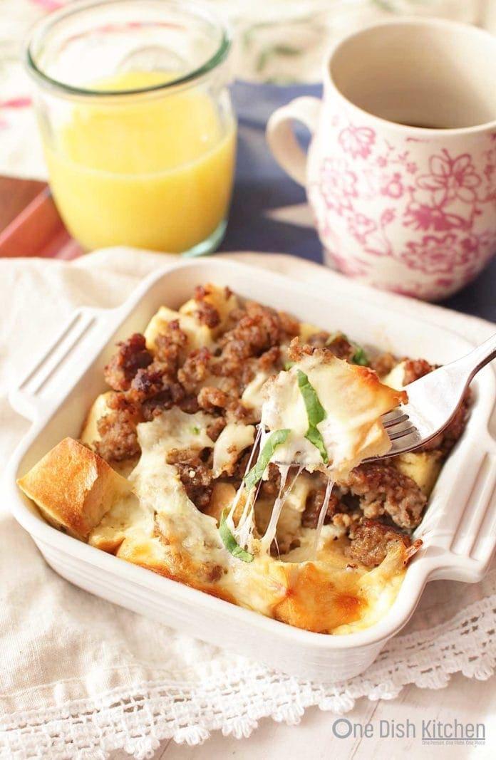 breakfast casserole   one dish kitchen