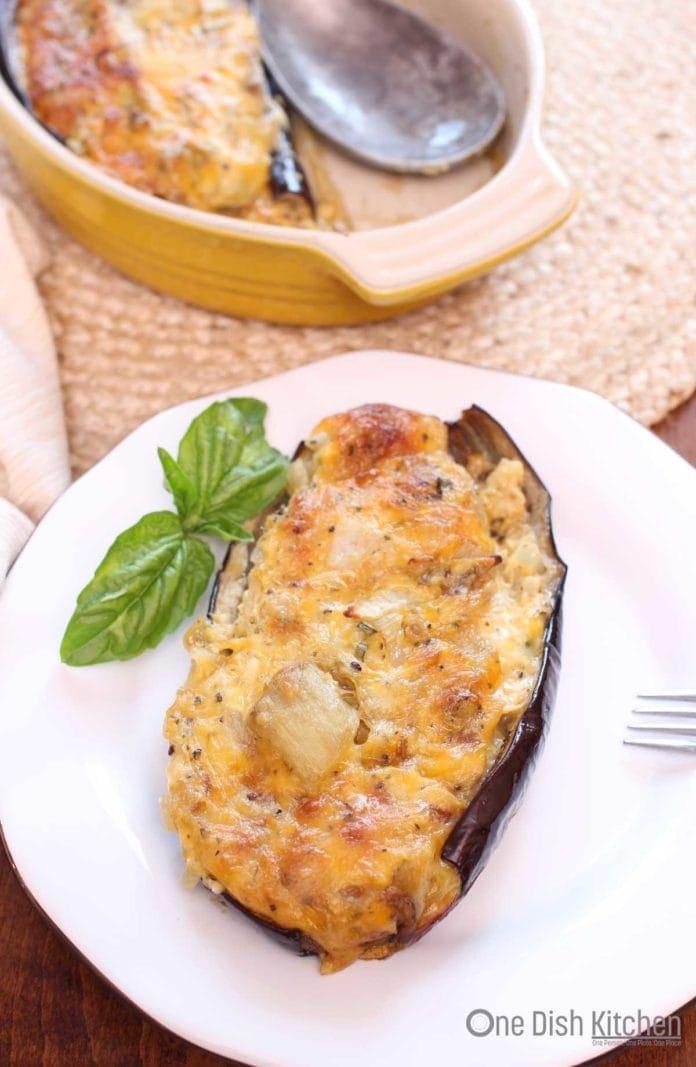 baked eggplant recipe | one dish kitchen