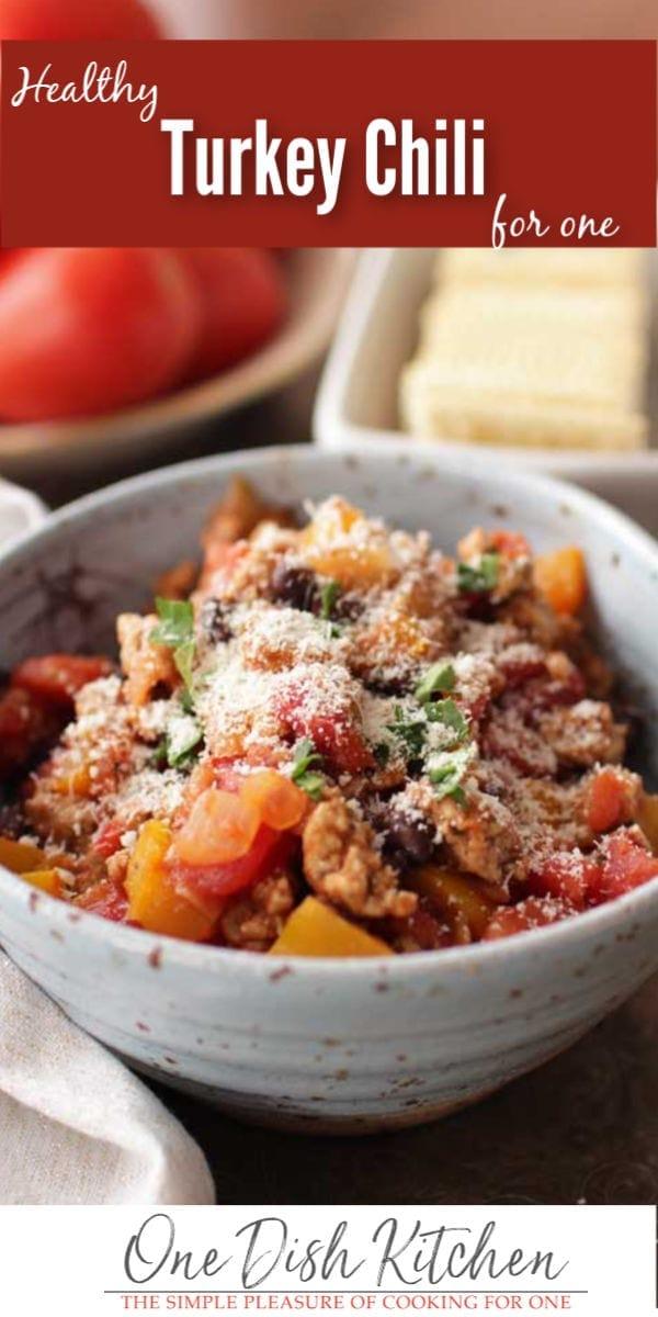 turkey chili | one dish kitchen