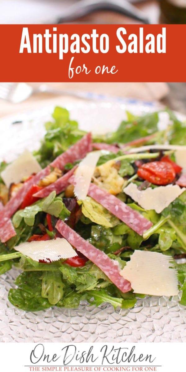 antipasto salad recipe | one dish kitchen
