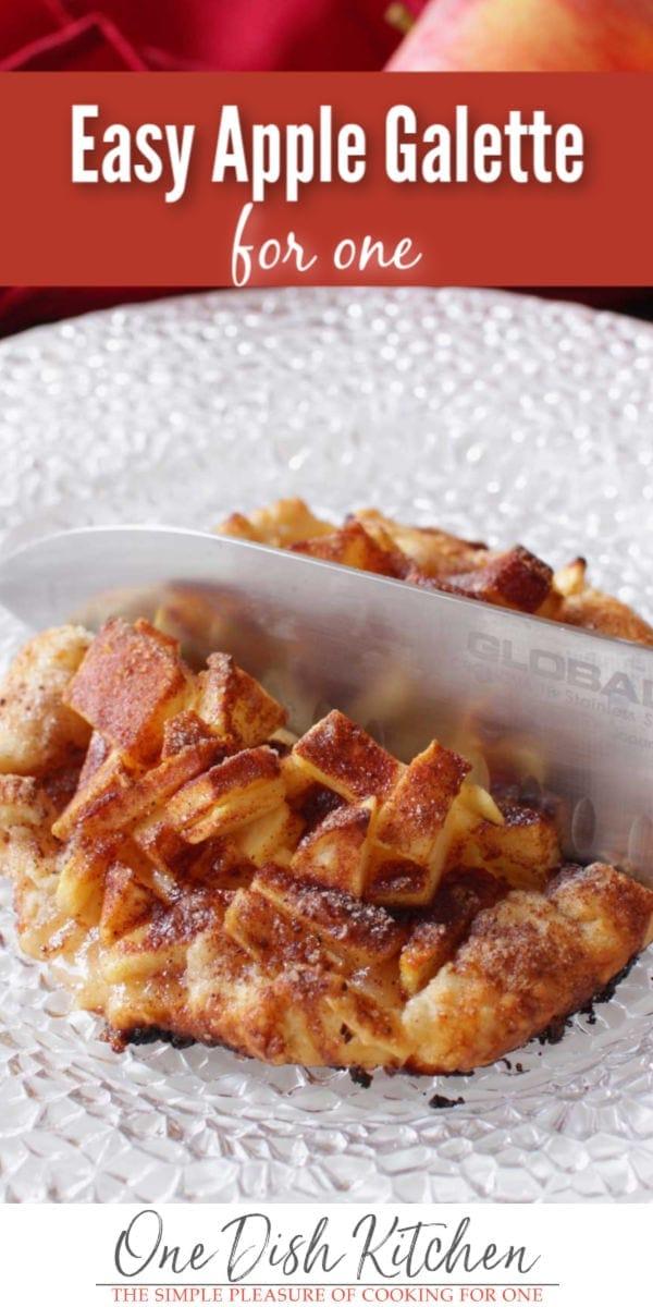 apple galette | one dish kitchen