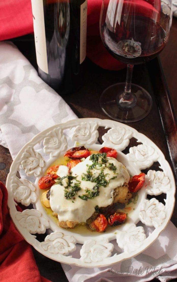 copycat chicken margherita from Olive Garden | One Dish Kitchen