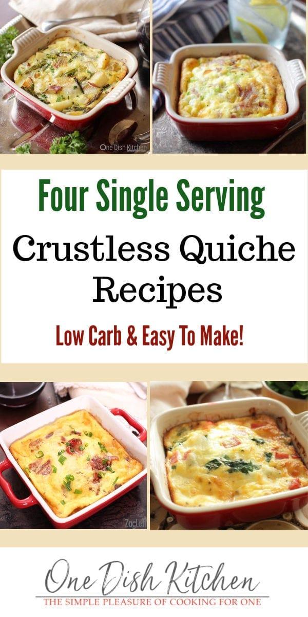 crustless quiche recipes | one dish kitchen