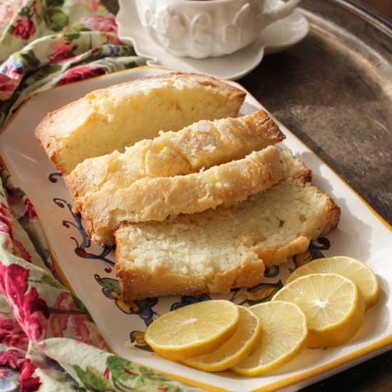 mini pound cake   one dish kitchen