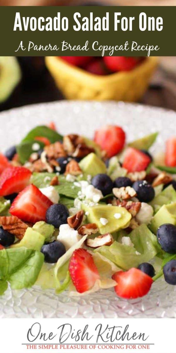 avocado salad | one dish kitchen