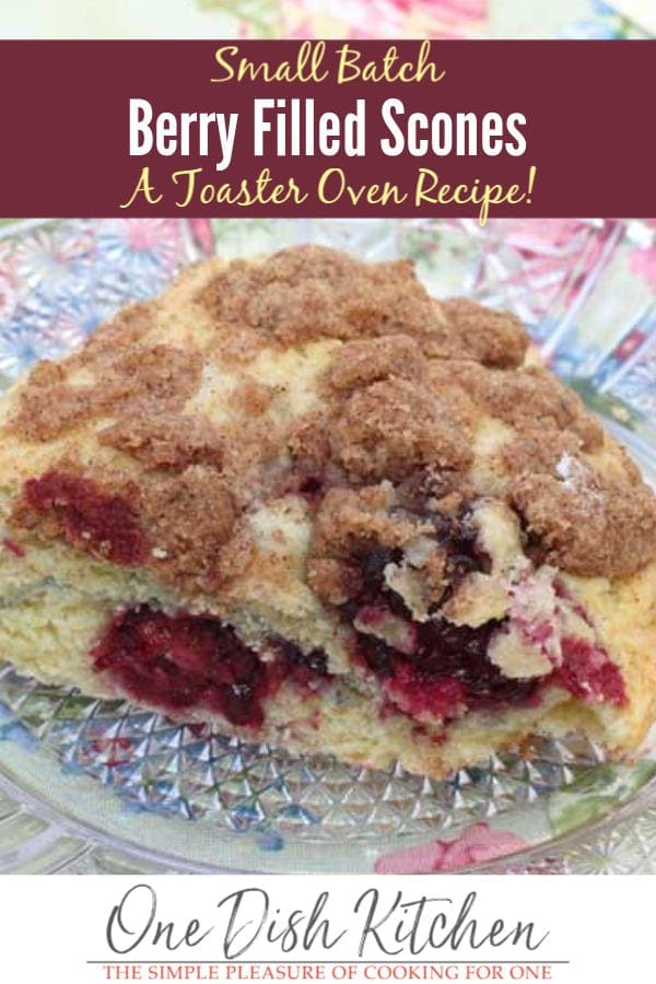 toaster oven scones | one dish kitchen