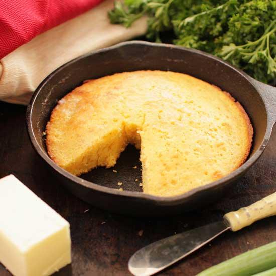 cornbread for one | one dish kitchen
