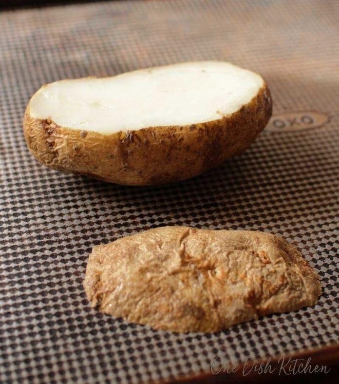 baked potato for a twice baked potato recipe | One Dish Kitchen