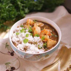 seafood gumbo | one dish kitchen