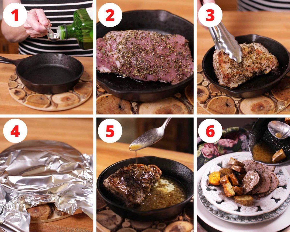 Easy Pork Tenderloin Recipe One Dish Kitchen
