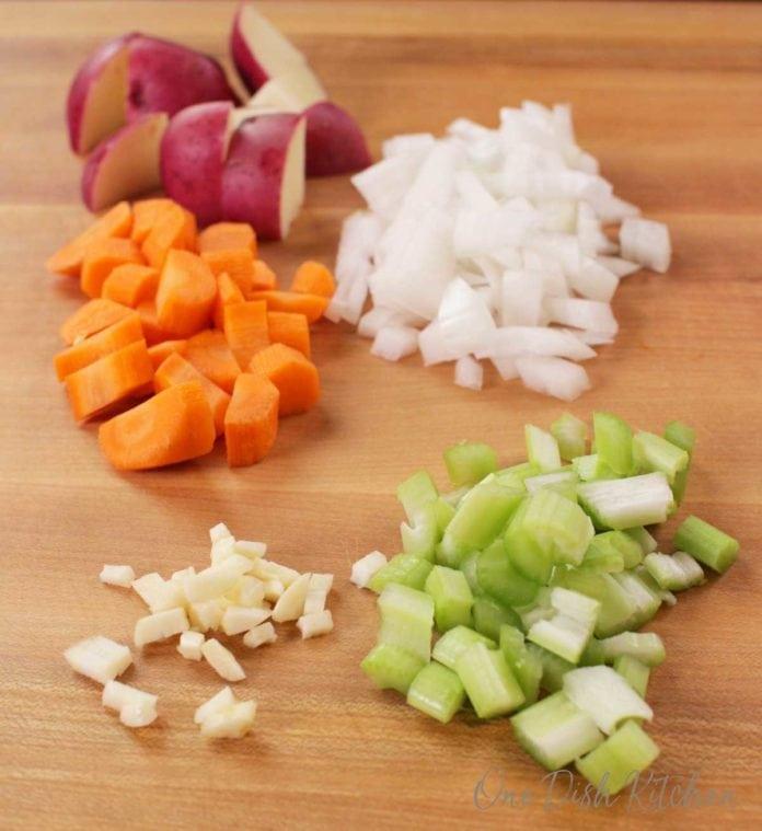irish stew vegetables | one dish kitchen